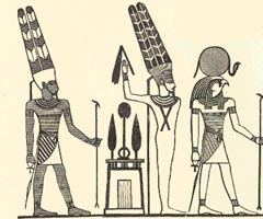 Amun_min_ra raised arm