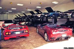 multi car garage