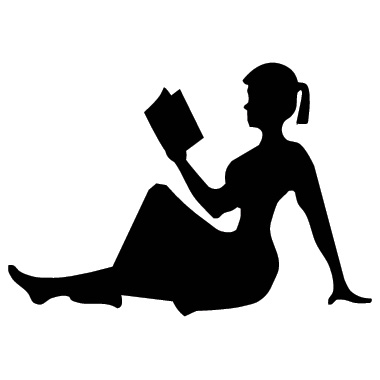 profile-woman-reading-sticker