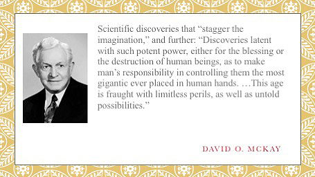 david o mckay staggering inventions to come after 1966
